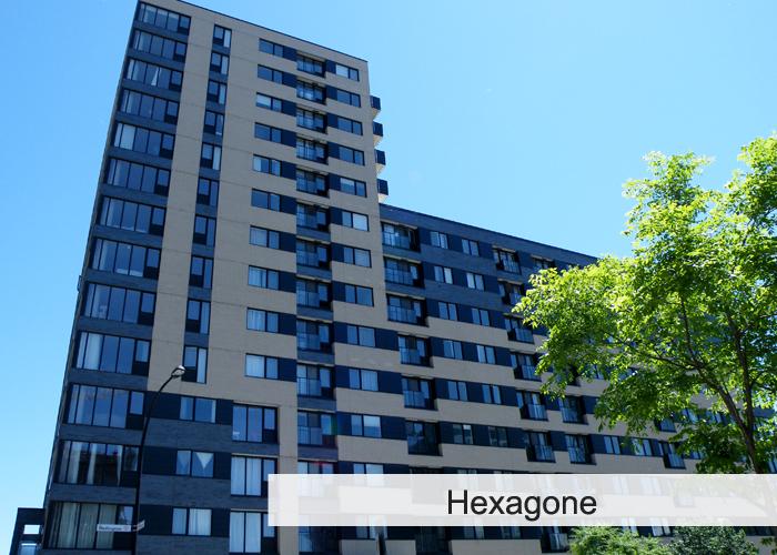 L'Hexagone Condos Appartements