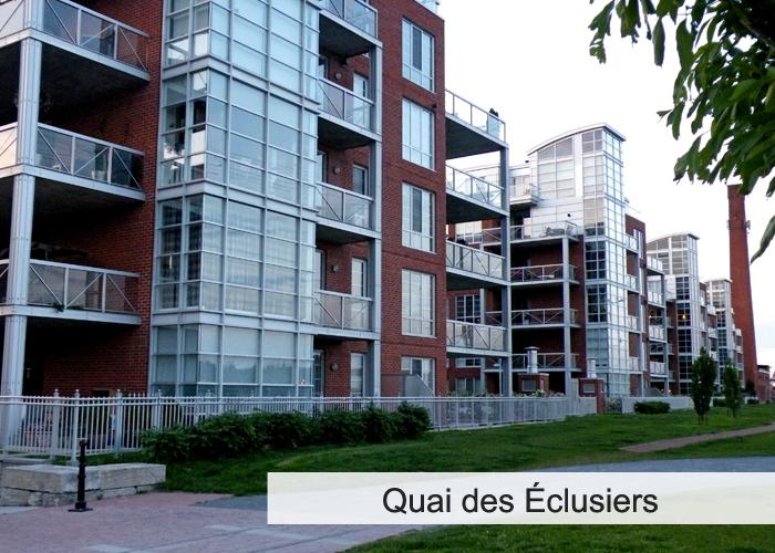 Quai des Éclusiers Condos Appartements
