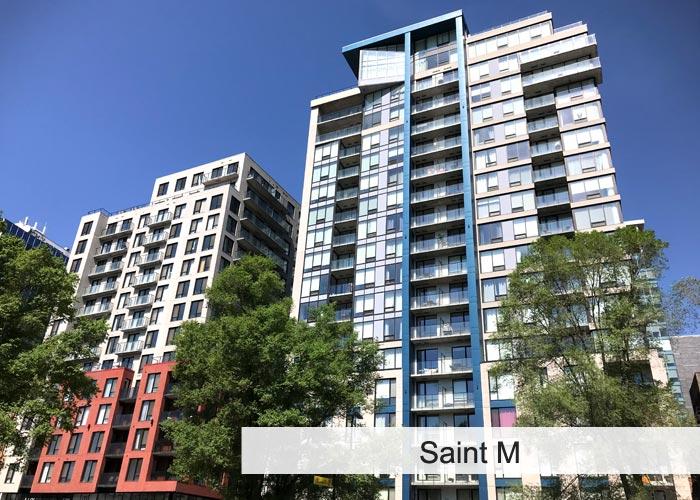 Saint M 1 et Saint M 2 Condos Appartements