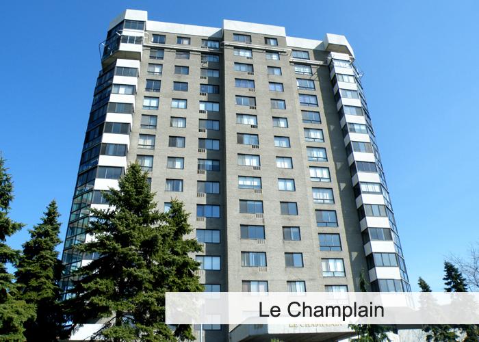 Le Champlain Condos Appartements