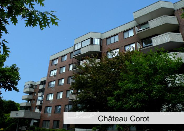 Le Château-Corot Condos Appartements