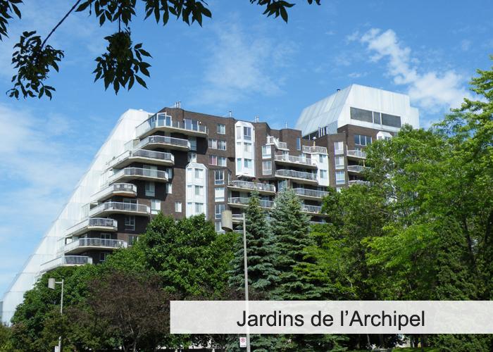 Le Jardin de l'Archipel Condos Appartements