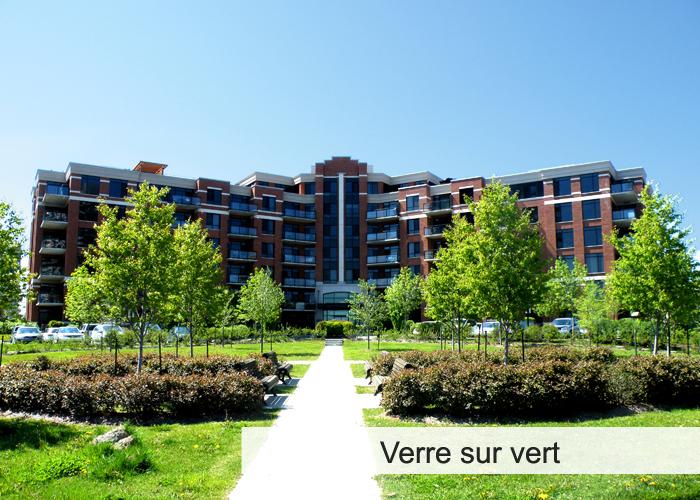 Le Verre sur Vert Condos Appartements