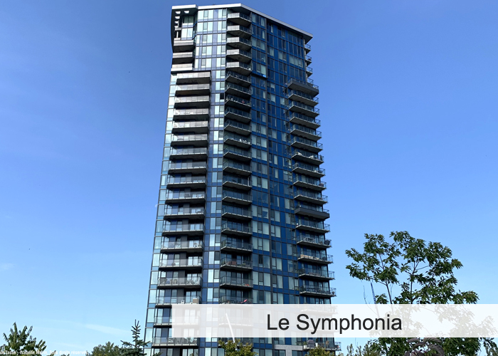 Le Symphonia Condos Appartements