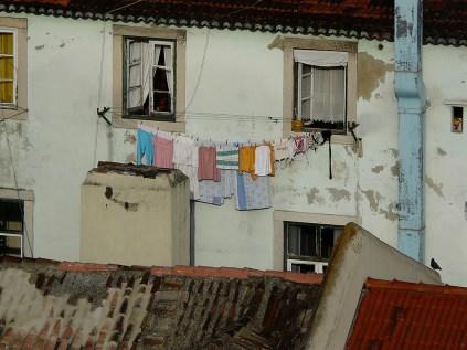 Die Wäsche dürfte trocken sein