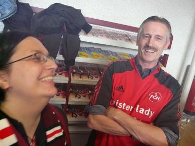 Sandra und Fritz (noch) mit guter Laune