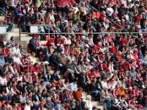 Viel los im Stadion