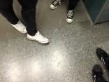 In der S-Bahn nach Hause