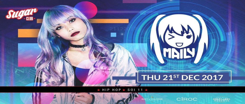 Sugar Club Bangkok Presents DJ Maily, Pioneer Winner, DJ Award, Cambodia, Model DJ, Party Time, Sugar Club Bangkok