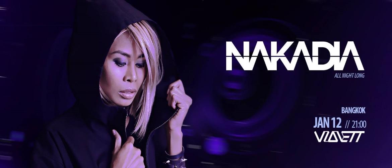 Violett Bangkok - Nakadia, DJ, Thailand, Bangkok, Pattaya, Techno, TEch house, tribal beats, Homecoming