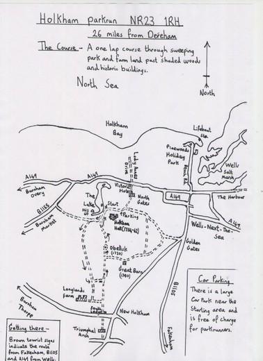 Maps :: Dereham Runners AC
