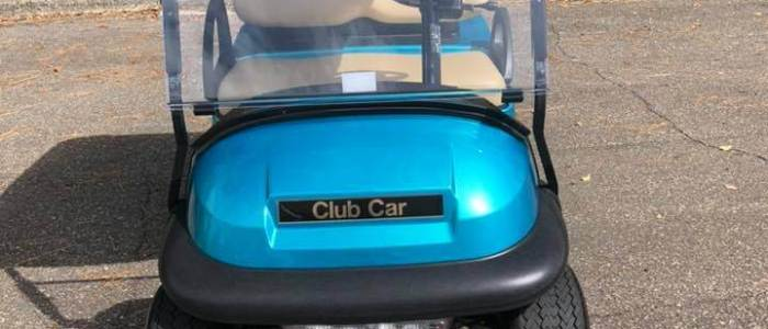 2018 Teal Club Car Precedent 700x300 - Sold Cart Gallery