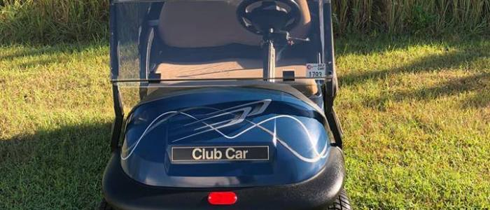 club car precedent front 700x300 - Used Golf Cars