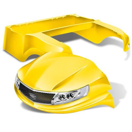 phoenix yellow - Custom Makeover for your Club Car Precedent