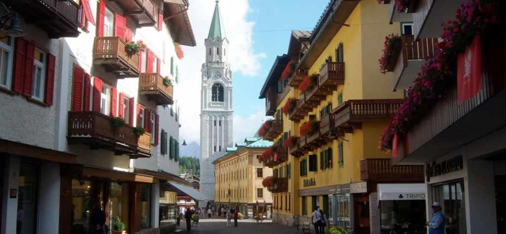 Cortina d'Ampezzo shoppping