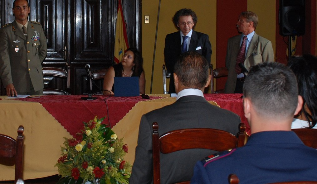 Press conference to present Memorial Ribot