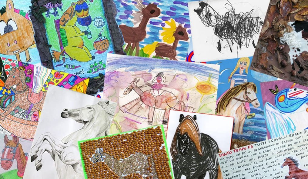 The Horse in the children's drawings