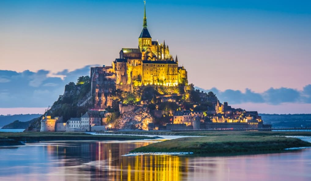 Mont-Saint-Michel in Normandie