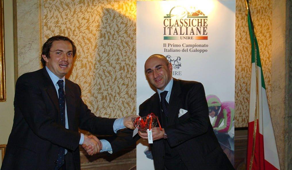Italian Gallop Championship award ceremony