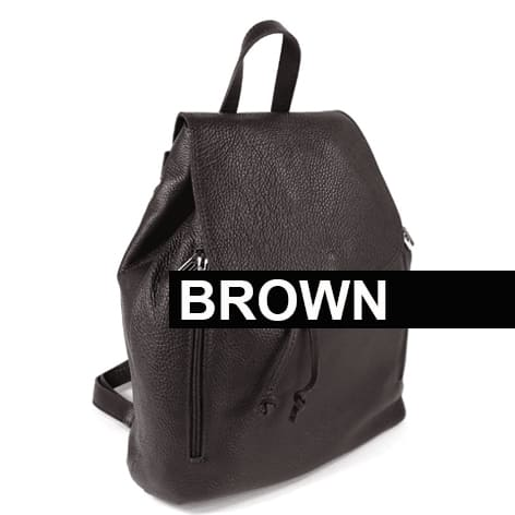 Riding BackPack Brown