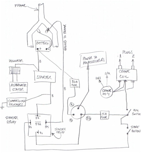 Wiring Diagram For 49cc Mini Chopper : 36 Wiring Diagram