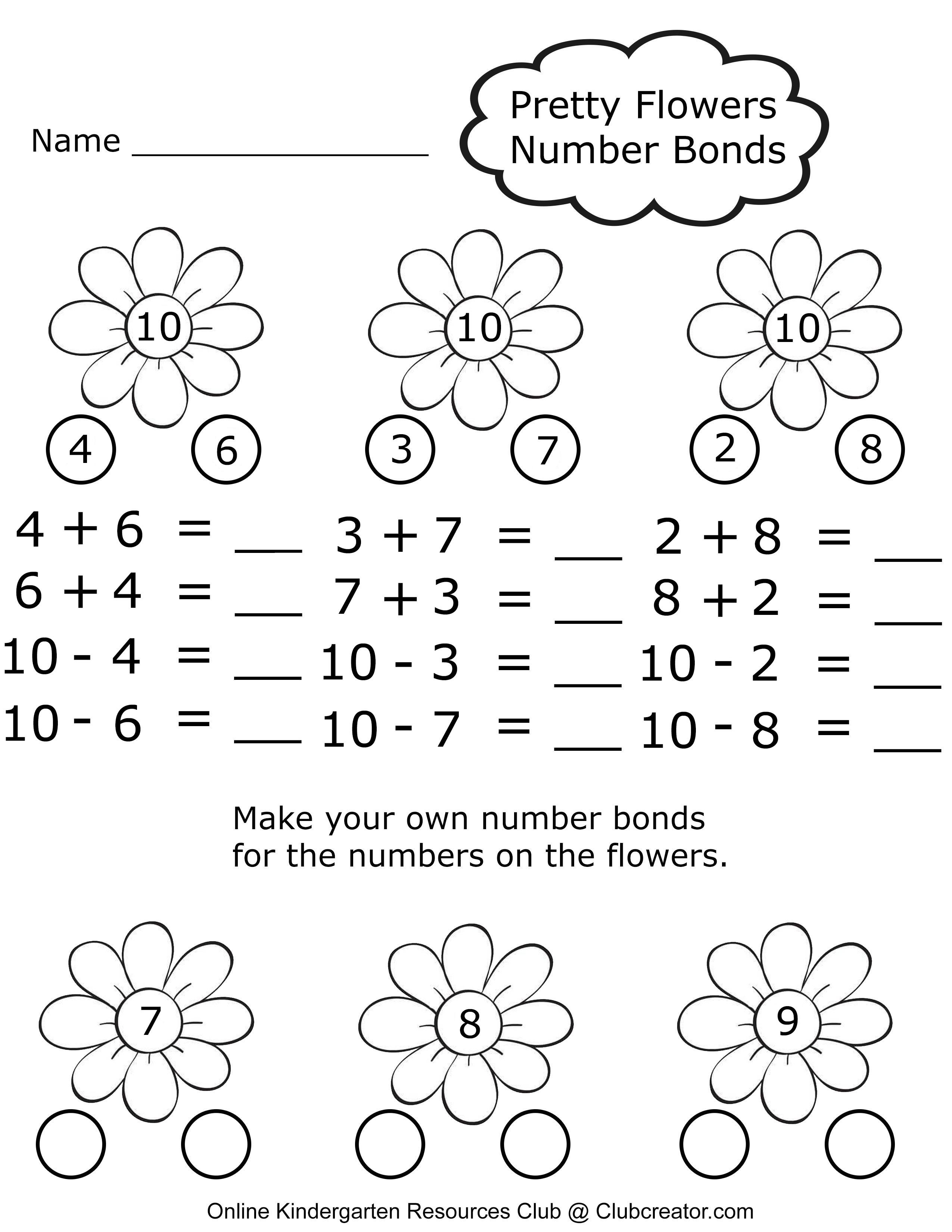 Math Worksheets Homeschool Worksheets