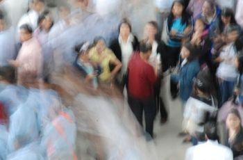 Crowd Blur, por jojo nicdao