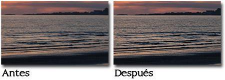 Método Paso Alto - antes y despues