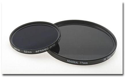 Efecto infrarrojo filtros infrarrojos