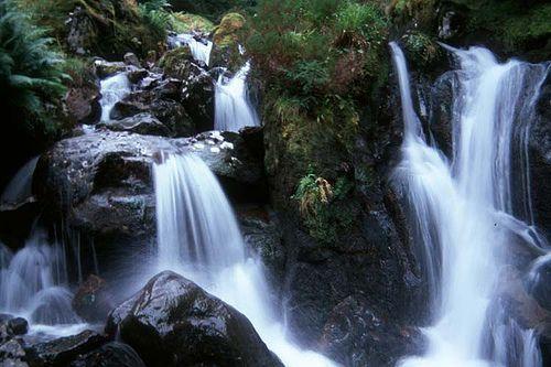 Waterfall near Ballachulish