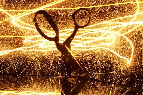 Painting scissors with light 1, por sociotard