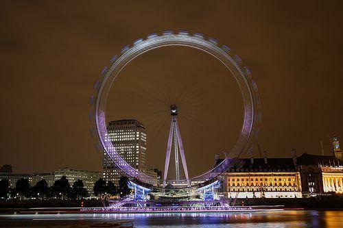 London eye long exposure, por Wilfried.B