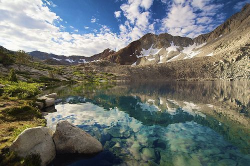 Lake Marjorie, Kings Canyon National Park, por SteveD.