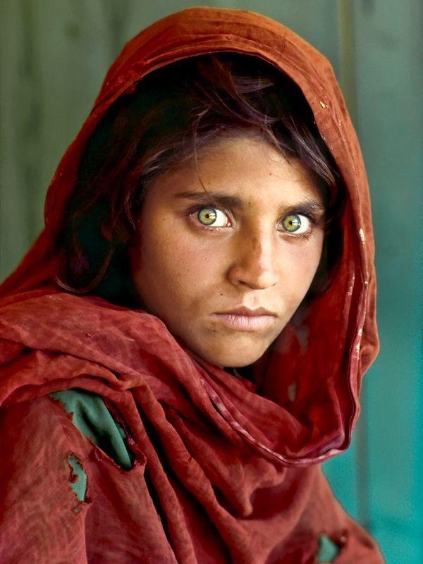 la niña afgana de Steve McCurry