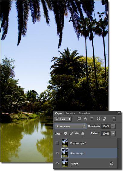 Resaltar los colores de una imagen_Superponer