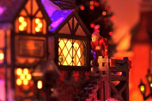 Scrooge and the Ghost of Christmas Past, por kevin dooley