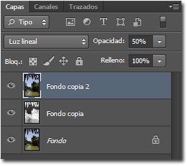Resaltar los colores de una imagen_panel capas