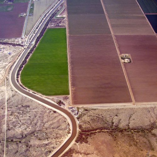 Maricopa farmland, por kevin dooley