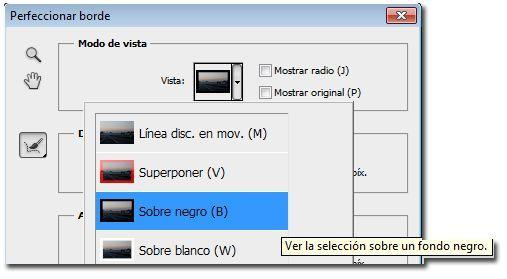 Como crear bordes creativos en Photoshop_04_fondo negro