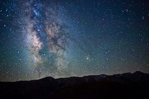 Milky Way From The Alabama Hills, por John Lemieux