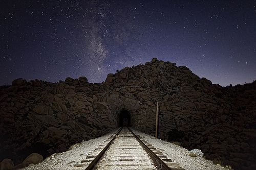 train tunnel, por cloudchaser32000c