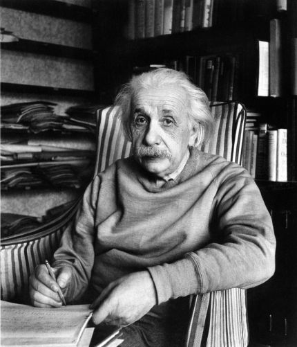 Alfred Eisenstaedt Albert Einstein