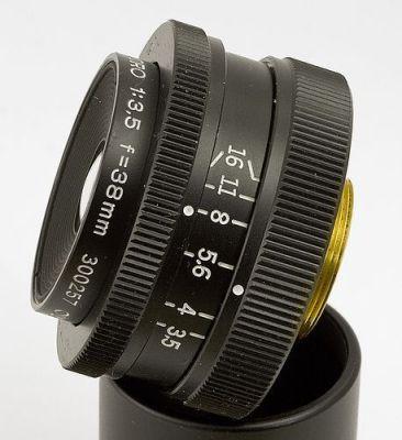 Olympus Zuiko MC-Macro 13,5 f=38mm lens, por s58y