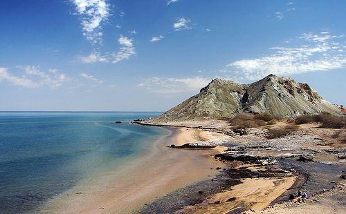 Khezr Beach, Hormoz Island, Persian Gulf, Iran, por Hamed Saber