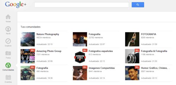 comunidades google +