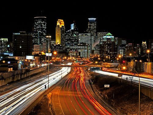 Minneapolis, MN Skyline, por Dusty J