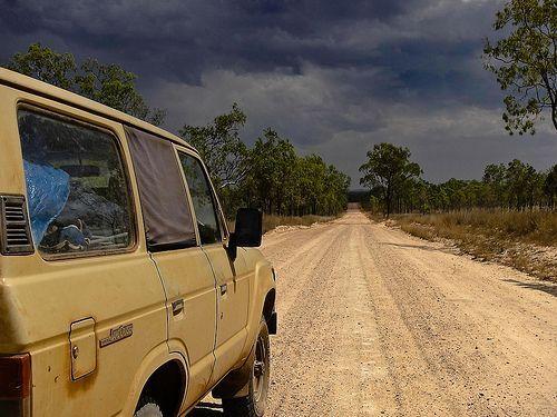 Storm on the dirt, por NeilsPhotography