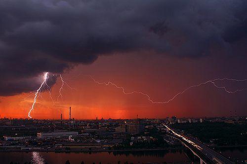 Evening lightning, por Andrew Kuznetsov