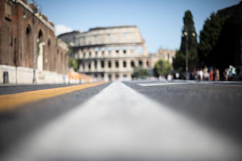 colosseum rome, por Mark Notari