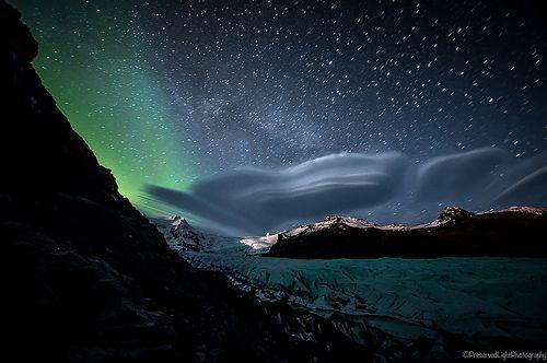 Svinafellsjokull Glacier, por Caillum Smith